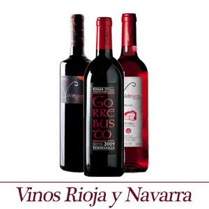 Vinos de Nararra y Riojas - Productos seleccionados con esmero